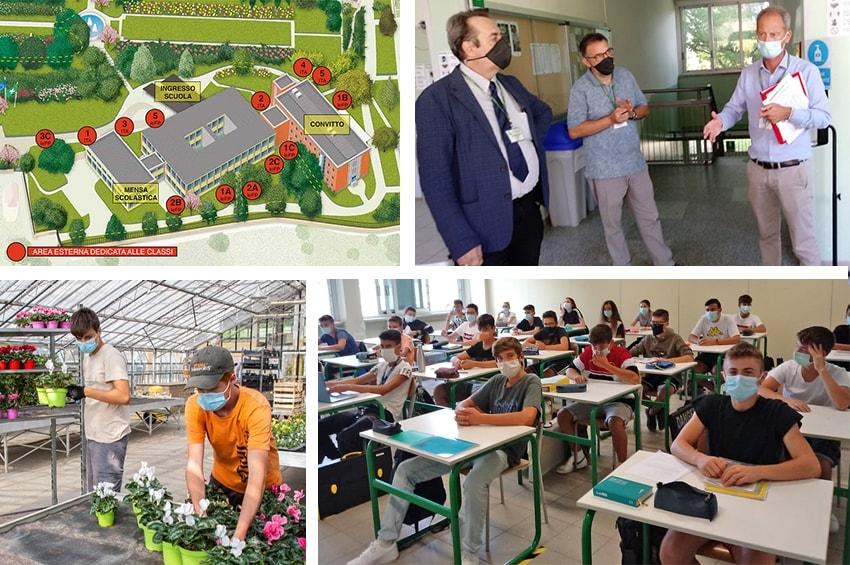 Fondazione Minoprio, la scuola è ripartita in sicurezza